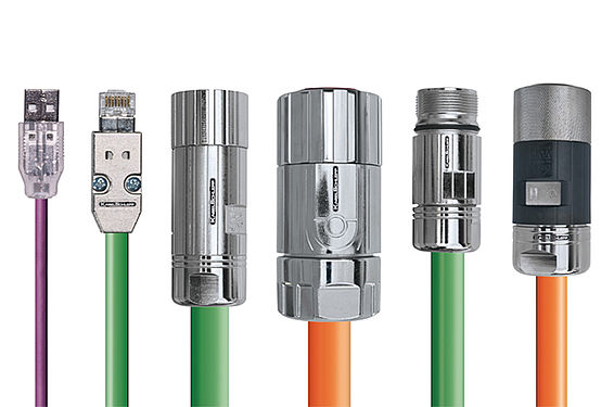 TRAXLINE® pre-assembled OEM high flex cables